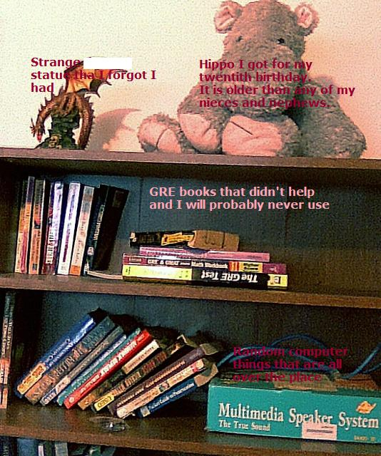 zomg a book shelf