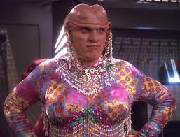 This is a sexy, sexy Ferengi woman