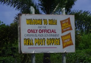 Hell, Grand Cayman