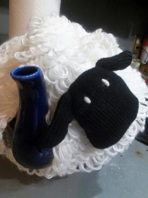 I'm a tea cozy type of person now.